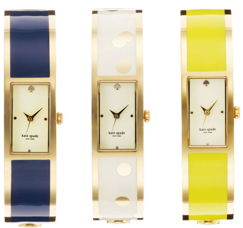 kate spade's new line of wristwear is quite lovely.