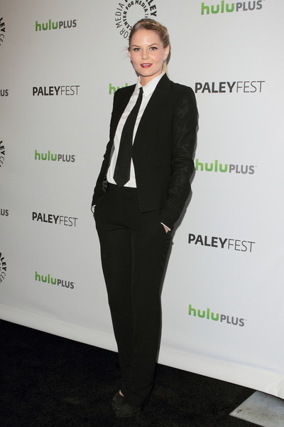 Jennifer Morrison suits up for the Once Upon a Time PaleyFest panel. For more of the cast arrivals click here.