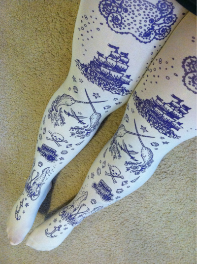 New tights from TejaJamilla on Etsy.