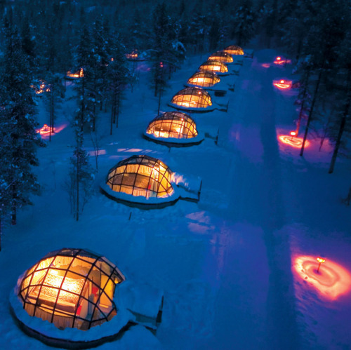 Kakslauttanen Hotel and Igloo Village, Finland