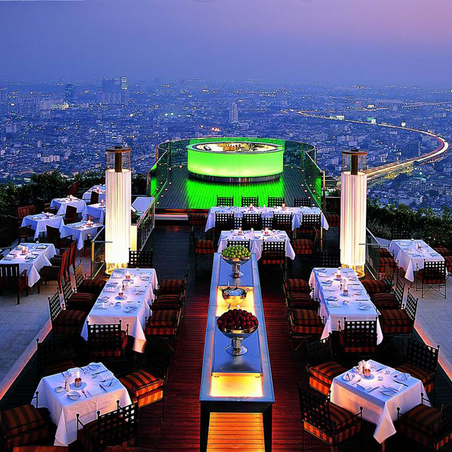 imacwalker:  Next year - Bangkok- Sirocco Restaurant @ state tower