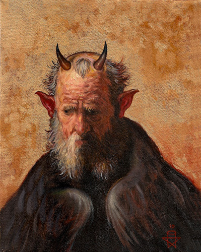 tatteredbanners:  Satan by Christopher Ulrich