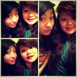 I love my bestfriend. #sister #friend #love #bestfriend #asian #forever #cute #girl #girls (Taken with instagram)