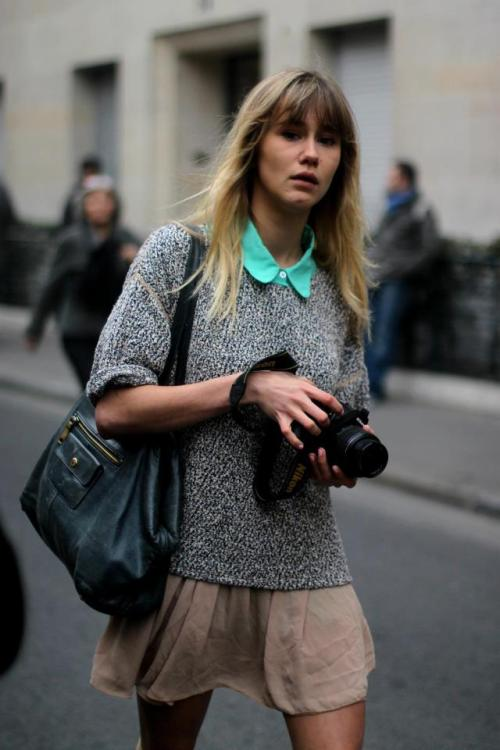 theclotheshorse:  street fashion by a nous paris