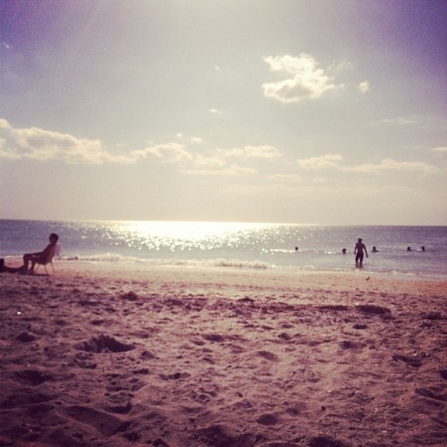 Yeah I could get used to this (Taken with Instagram at Captiva Beach - Captiva Island Florida)