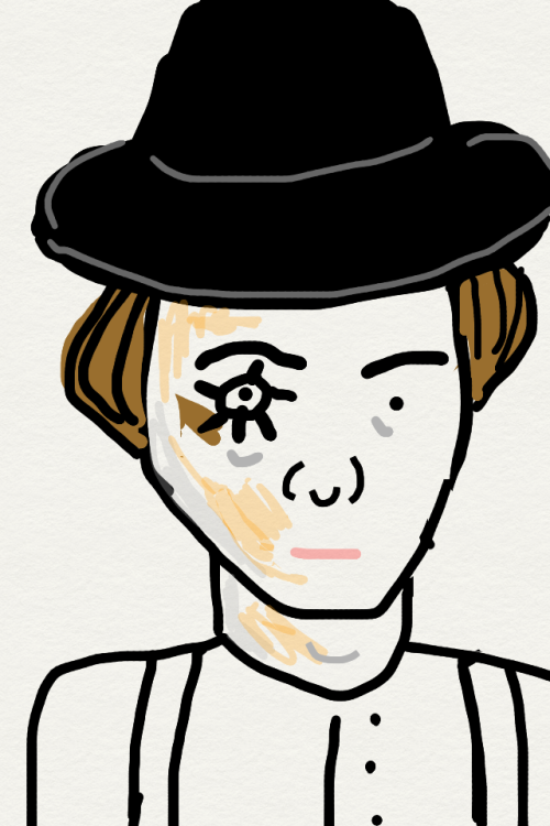 This is Alex from A Clockwork Orange