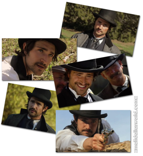 'The Bat in the Hat' (Matt Dallas as Bat Masterson in Wyatt Earp's Revenge - or, as we call him, 'Batt Dallas'!) MDW main site  TwitterFacebook PageYouTube