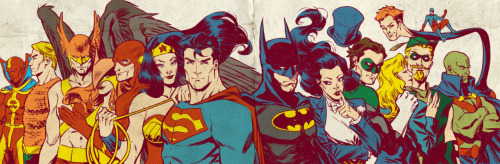 jesic:  Silver Age JLA, by Elena Casagrande