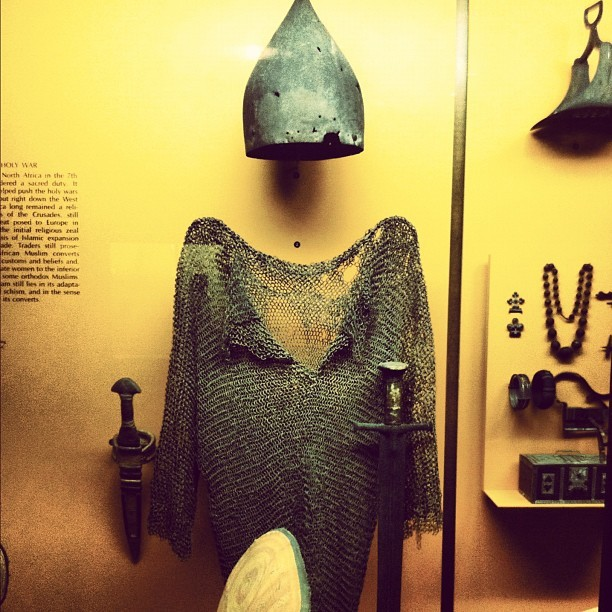 African Caliphate Armor (Taken with instagram)