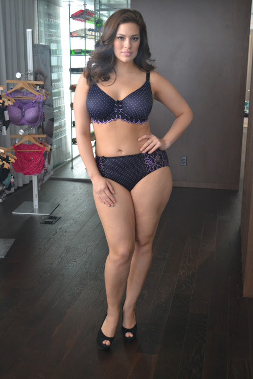 "Ashley Graham 36 inch bust, 34 inch waist, 47 inch hips ""Addition Elle Intimates Event with Ashley Graham"" by Flaws of Couture"