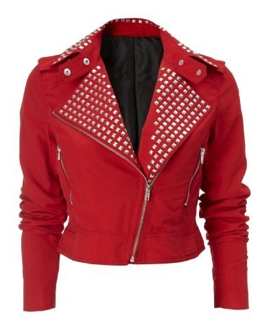 A Red Leather jacket, i love it.