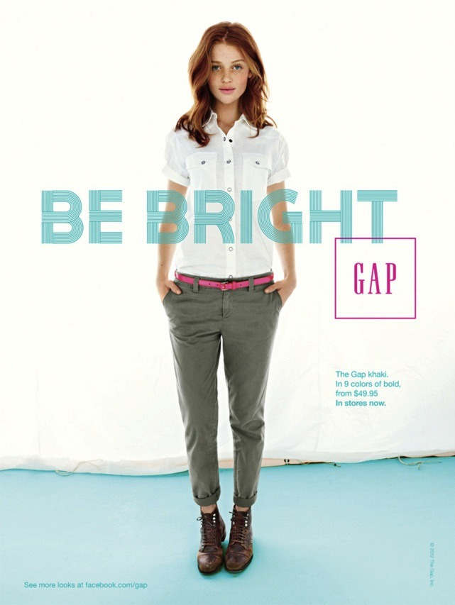i quite dislike the gap, but every time i see this ad i just want to stop and stare.