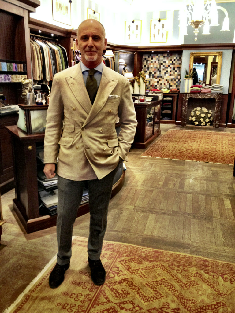 Gianni Dal Cortivo @Tailor's & Ties in Verona, Italy