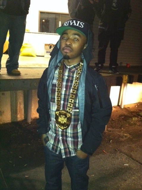 """Young King Mezatron"" After the J.Cole Show in Charlotte, NC #FreshHeirs"