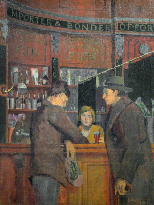 thorsteinulf:  Malcolm Drummond - The Stag Tavern (1929)