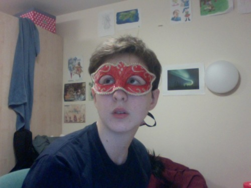 HEY CAPABLE GIRL I FOUND A MASK AM I A REAL SUPERHERO YET