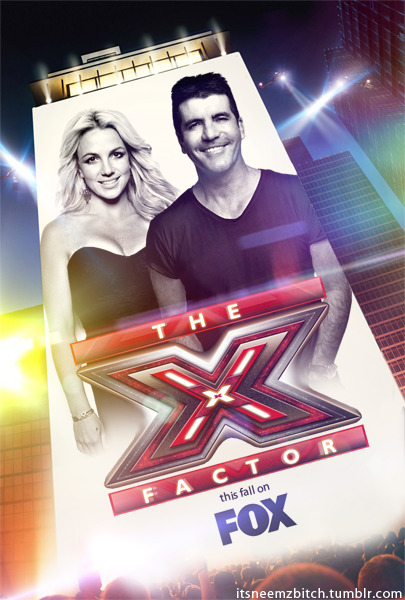 Britney Spears on the X-FACTOR with Simon Cowell