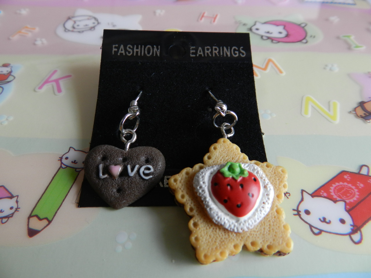 Cookie earrings~