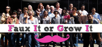 Yesterday, Dogeared had our quirkiest contest to date–a mustache contest! It was open to all employees, the only expectation being to either grow it or faux it. Some of the guys had been cultivating their facial hair for several months in anticipation!We had 15 official entrants and definitely no shortage of creativity. From the tame to the downright wacky: there were mustaches galore! Our clever employees shaved, shaped, dyed, crafted and baked mustaches in a myriad of styles and themes.