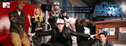 Two weeks away until the season 5 premiere of Rob Dyrdek's Fantasy Factory on MTV at 10PM ET. Check in and join the event. https://t.co/wM2sKNcY