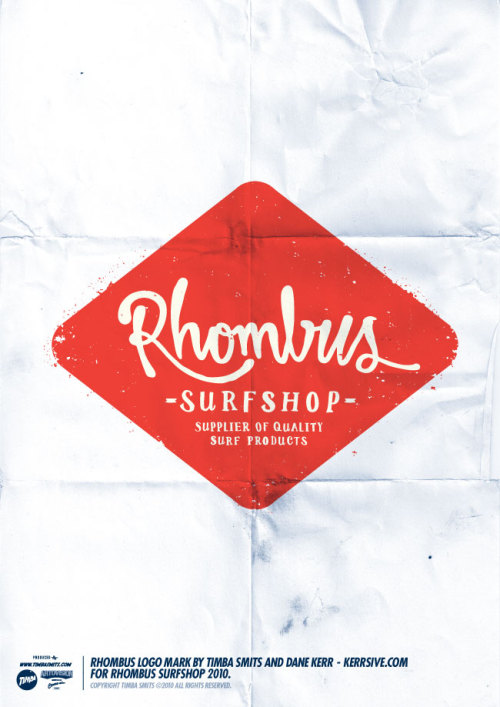 visualgraphic:  Rhombus Surf Shop