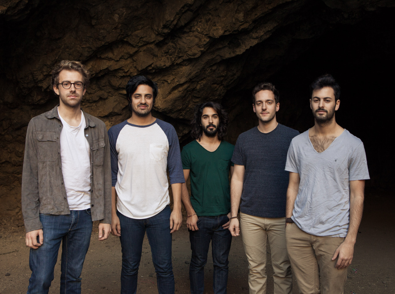 Young the Giant after our shoot for West Virginia