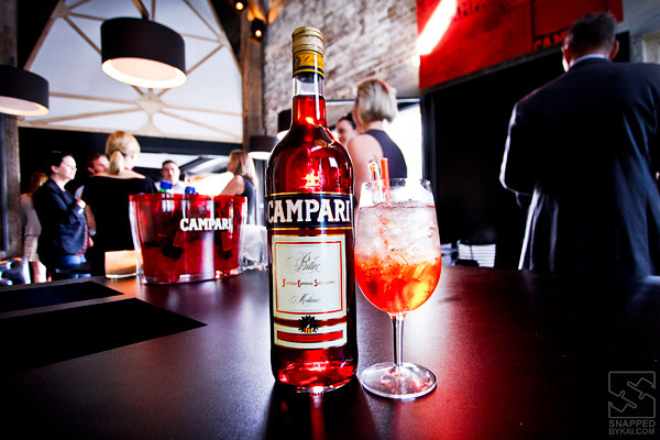 Campari Aperitivo party product shot…