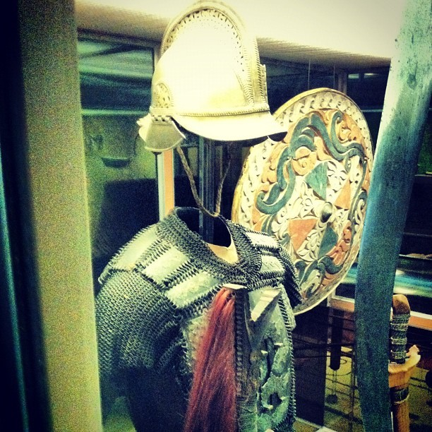 Close up of the Armor (Taken with instagram)