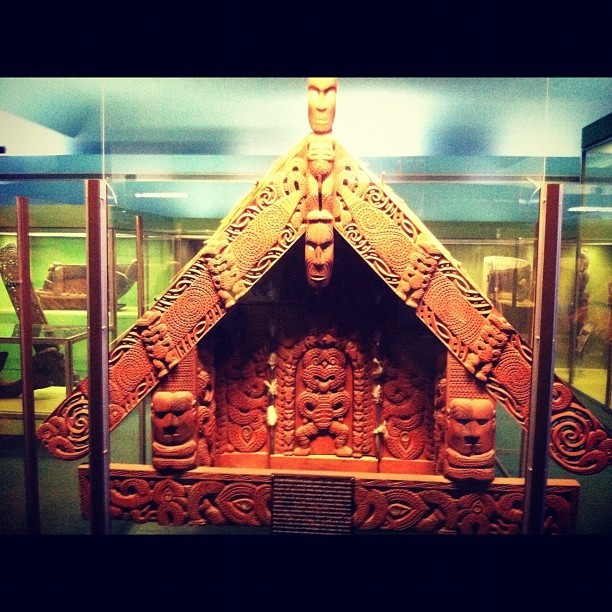 Maori Roof (Taken with instagram)