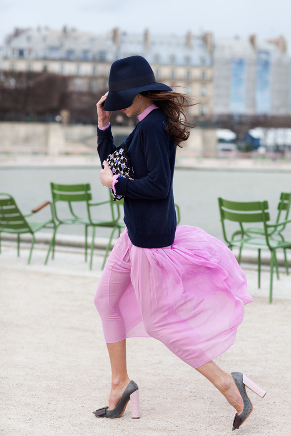 On the Street…..After Chloe, Paris (image: thesartorialist)