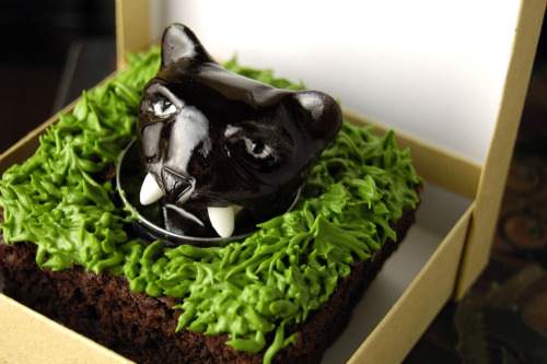 "Anchorman ""Sex Panther"" cake"