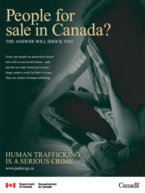 How many people are actually aware about human trafficking in our own country?