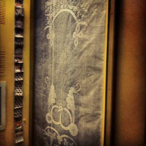 Armenian Cross etching (Taken with instagram)