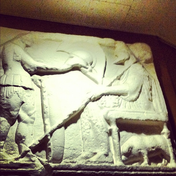 Greek Carving (Taken with instagram)