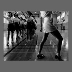 Tap Dancing Class Iowa State College 1942 Poster from Zazzle.com on We Heart It. http://weheartit.com/entry/15574264