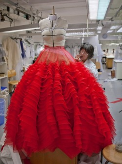 itscouture:  Making of | Christian Dior | Spring 2012 Couture