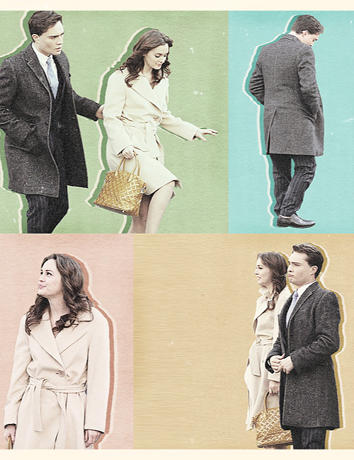 Ed and Leighton on the set | March 5