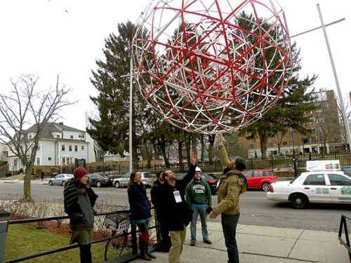 Ideas flowed at TEDxSomerville, and innovative art like the spinning geodesic spheres came full force. Check out my ShutterStory.