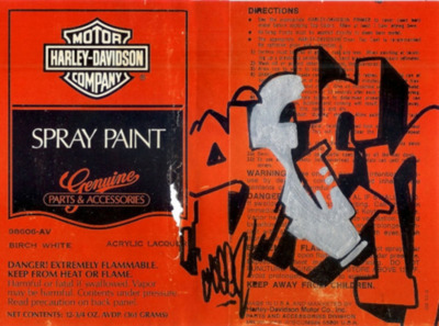 Seen Graffiti Labels