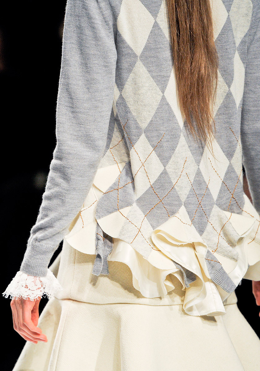 | Sacai | fall winter 2012