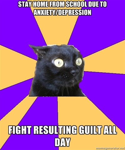 oh. mah. gah. anxiety cat knows my life, guys. gpoy to the max.