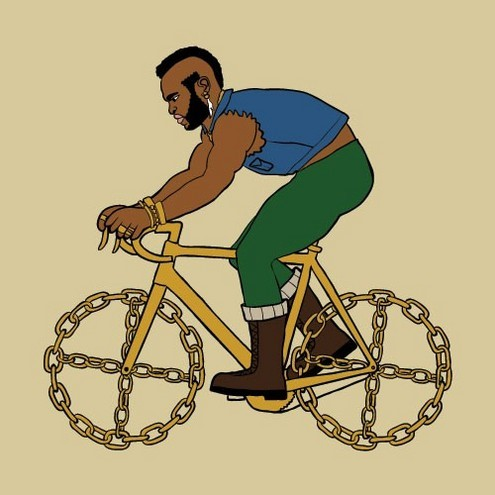 i pity the fool who doesn't ride a bike