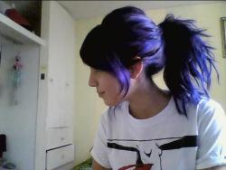 bye bye to my long & purple hair :O loved it so much
