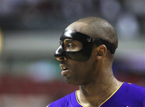 "nbaoffseason:  ""Holy Masquerade, Batman!"" (AP Photo/Carlos Osorio)"
