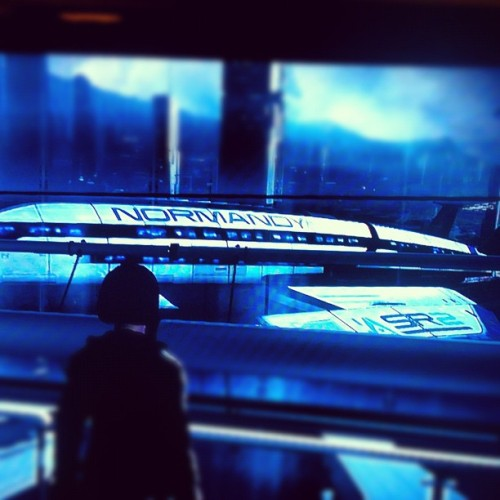 The Normandy #masseffect3  (Taken with instagram)