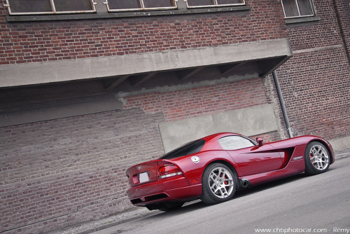 670HP Venom Red Dodge Viper SRT-10 Coupe by Rémy | www.chtiphotocar.com on Flickr.