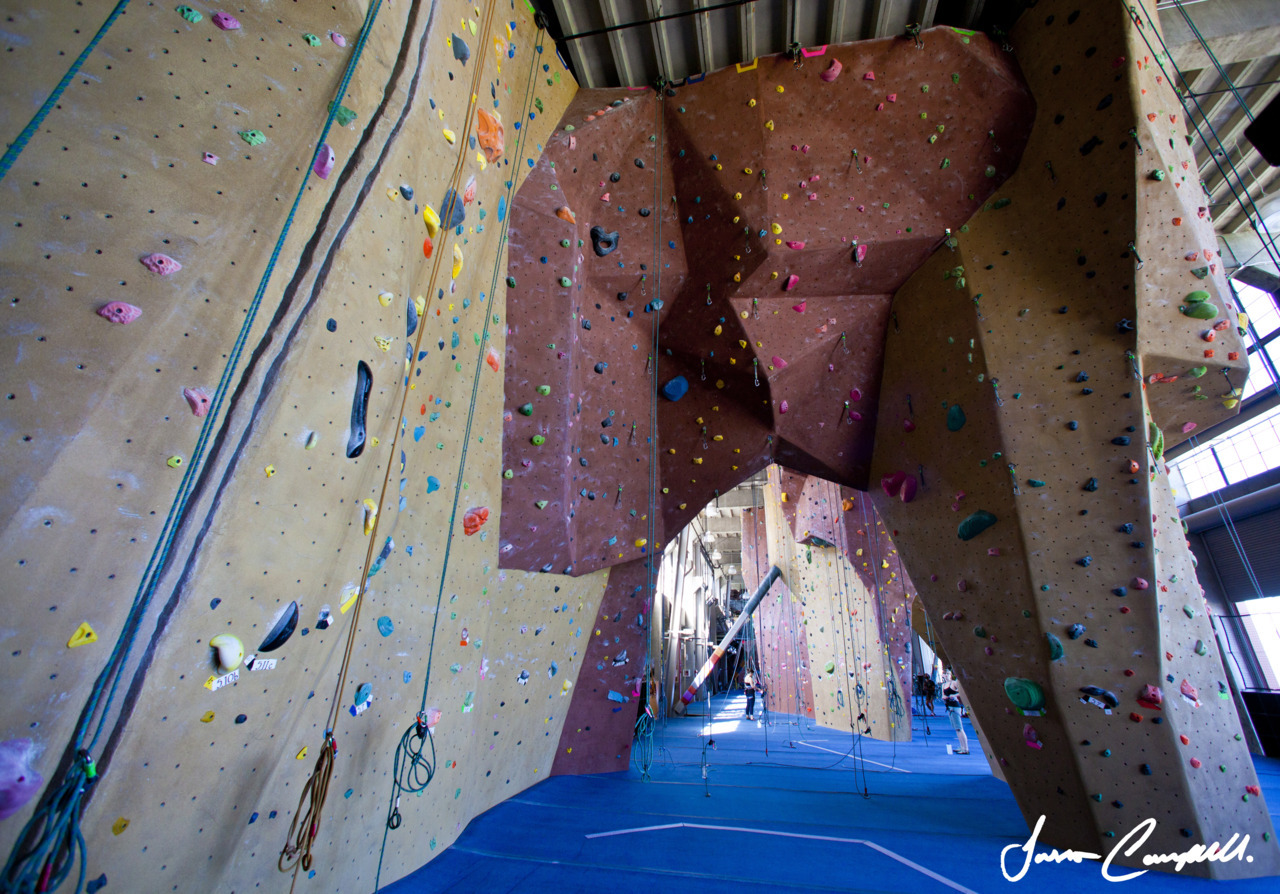 Indoor Rock Climbing: Planite Granite, San Francisco