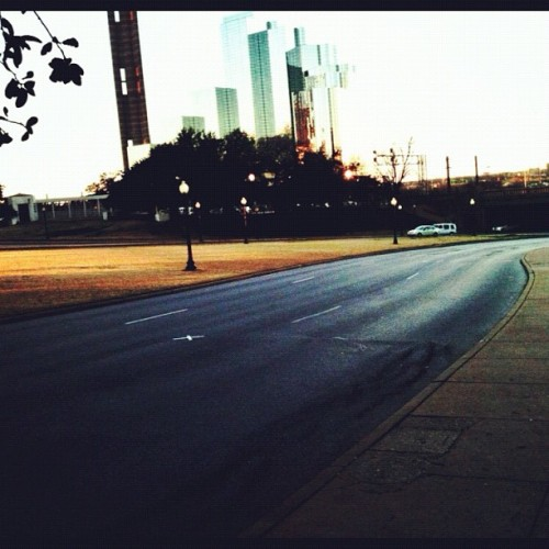 Eerie spot where JFK was assassinated (Taken with instagram)