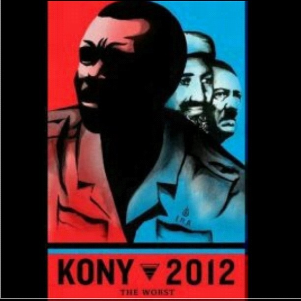 KONY 2012 (Taken with instagram)