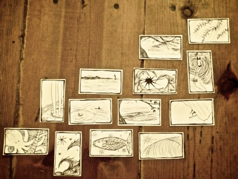 My old miniature sketchings.